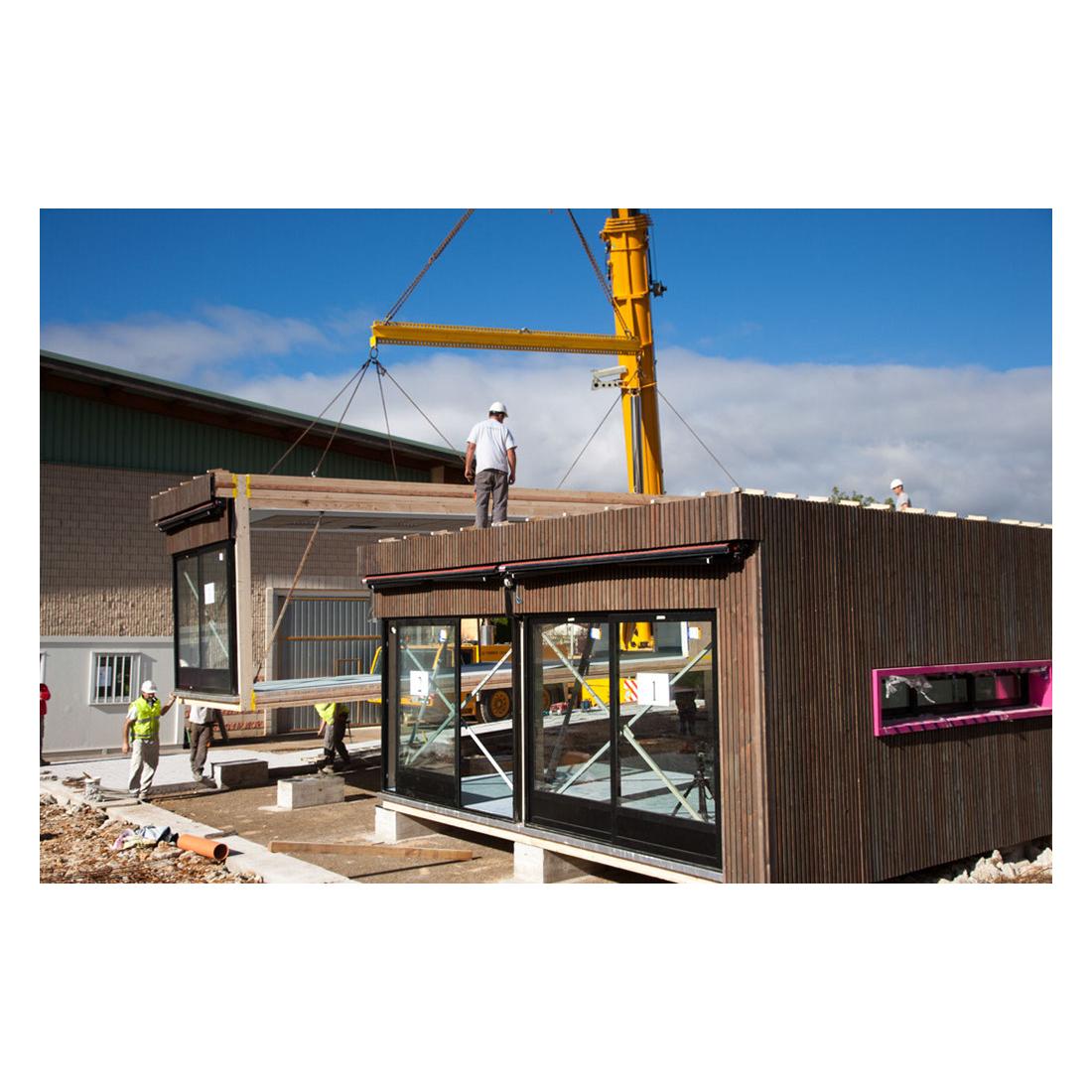 Construction maison modulaire maison moderne - Construction modulaire contemporaine ...